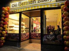 Old German Bakery - Hoboken. Go for some weekend streudel!