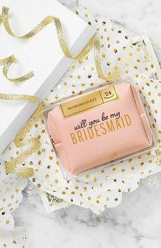 'Be My Bridesmaid' Kit by Pinch Provisions? YES, please! #bridesmaid #bridesmaidgift