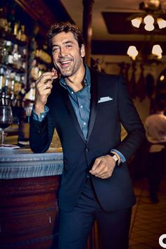 Navy is the new black, Navy tuxedo, midnight blue, classic, slim fit Navy Lorenzo, stand out, unique style, Skyfall, James Bond tuxedo, trendy, blue tuxedo with chambray shirt