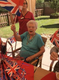 Birch Green Care Home celebrates D-Day - Springhill Care Group Lancashire