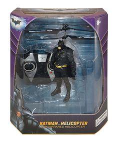 Look at this #zulilyfind! Batman Molded Flying Figure- 2 channel by Batman #zulilyfinds