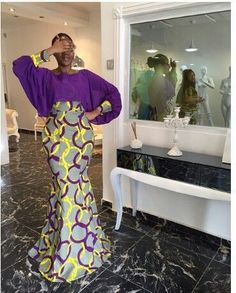 ~Latest African Fashion, African Prints, African fashion styles, African clothin… – Women and Fashion African Dresses For Women, African Print Dresses, African Attire, African Fashion Dresses, African Wear, African Women, Nigerian Fashion, Ghanaian Fashion, African Prints
