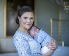 Crown Princess Victoria and Prince Oscar of Sweden