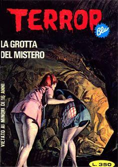 Terror Blu #44 - LA GROTTA DEL MISTERO
