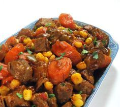One Perfect Bite: Beef and Hominy Stew