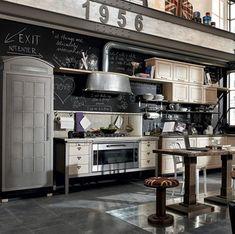 Steampunk Küchen Möbel Design