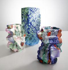 Thaddeus Wolfe's hand-blown, cut and polished glass vessels Abstract Sculpture, Sculpture Art, Sculptures, Textile Artists, Ceramic Artists, Clay Design, Design Art, 3d Printer Designs, Art Of Glass