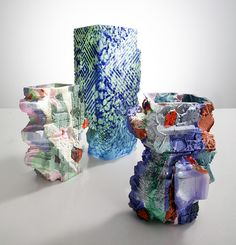 Thaddeus Wolfe glass vases | sightunseen.com