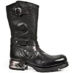 Botte en cuir M.MR003-C20 New Rock