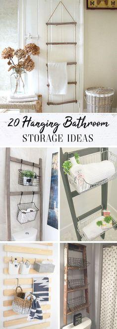 5592 Best Bathroom Storage Ideas images in 2019 | Bathroom