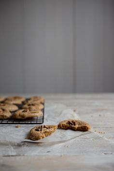 Chewy Walnut Biscuits (Gluten Free) - From My Dining Table - Genius in simplicity!