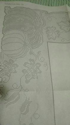 Filet Crochet Charts, Crochet Doily Patterns, Crochet Designs, Crochet Doilies, Crochet Lace, Free Crochet, Christmas Crafts, Cross Stitch, Blanket