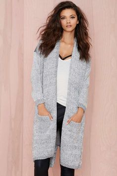 Caila Oversized Cardigan | Shop Sweaters at Nasty Gal