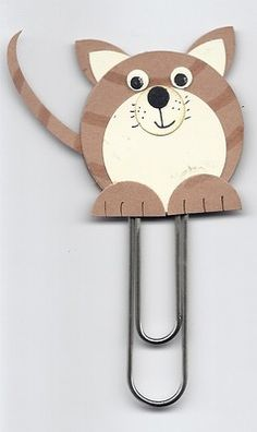 One Stampin' Up! Punch Art Bookmark Kit -Cat