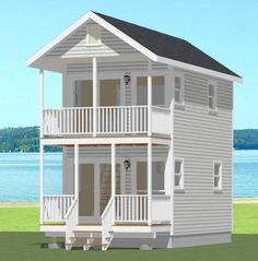 12x20 Tiny House -- #12X20H1 -- 460 sq ft - Excellent Floor Plans