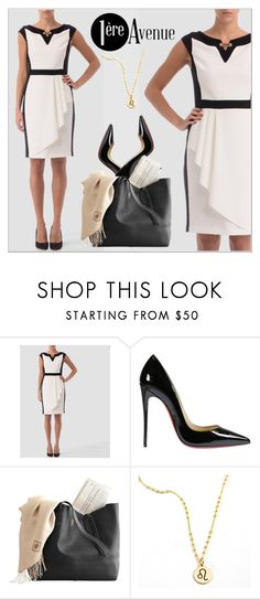 """""""1ere Avenue"""" by deeyanago ❤ liked on Polyvore featuring Joseph Ribkoff and Christian Louboutin"""