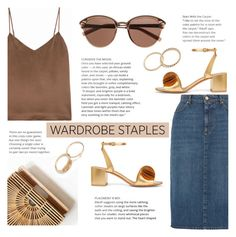 """""""Tried and True: Wardrobe Staples #2"""" by sandralalala ❤ liked on Polyvore featuring AlexaChung, L'Agence, Mercedes Castillo and Witchery"""