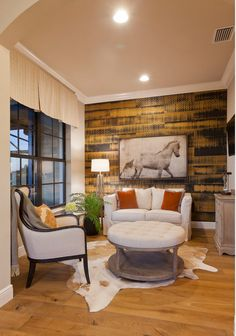 John Cannon home designed by Beasley & Henley Interior Design. #Design #Ideas Ways to decorate your luxury home. #Naples, FL #master #sitting #room