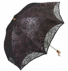 U40 Women's Two Folding Hand Embroidery Flower Print Double Lace Sunshade Umbrella/Double-deck Umbrella by Raindrops&Toys, http://www.amazon.co.uk/dp/B00FF1PVRG/ref=cm_sw_r_pi_dp_2sUwtb1Z3V8C4
