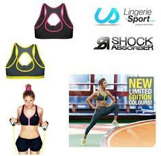 Brassière de  sport Shock Absorber - 25% avec le code SHOCKLS25   lingeriesport  codepromo  mareduc  bonplan  shockabsorber  jaune  rose e6da6cc6d1d