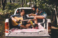 Creative Engagement Ideas Engagement Photo Shoot Poses, Themed Engagement Photos, Engagement Ideas, Pre Wedding Shoot Ideas, Pre Wedding Photoshoot, Photoshoot Ideas, Rustic Prenup, Prenup Ideas Philippines, Pre Nuptial Photos