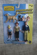 1:12 Scale Dollhouse Doll Figures Lot Extreme Makeover Home Edition Dream Family