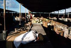 Alex Webb - ANTIGUA. St. Johns. 1983. Market.