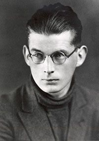 Samuel Beckett, 1920--- again, out of time.... chiseled Irish face, ice blue eyes...