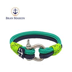 Joyce Nautical Bracelet by Bran Marion Nautical Bracelet, Nautical Jewelry, Bracelets For Men, Handmade Bracelets, Marine Rope, Captain Hook, Everyday Look, Jewelry Collection, Gifts