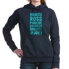 Friends TV Show Women's Hooded Sweatshirt