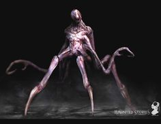 Haunted Stories horror alien creature by jeremiahconcept