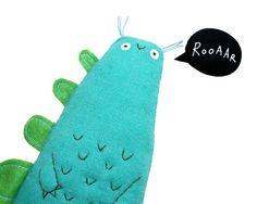 Dinosaur Soft Toy Plush Dinosaur Doll Gift for Children by poosac