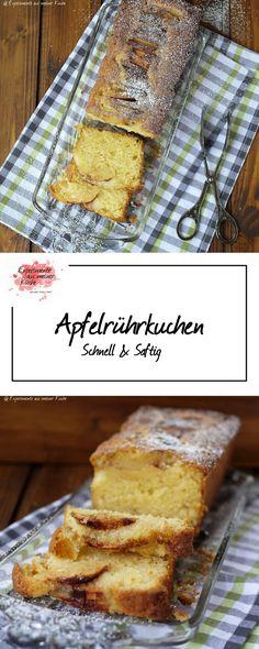Apfelrührkuchen | Backen | Rezept | Kuchen