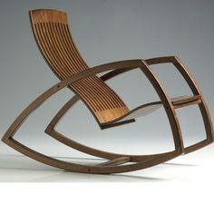 Bij deze stoel vind ik de poten heel mooi