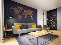 Projekt wnętrza mieszkania // apartment interior designLok. // loc.: WarszawaPowierzchnia // area: 60m²Rok // year: 2015