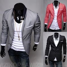 2013 New Fashion Men Blazers,Top Brand Mens Suits,Casual Jackets,Men's Coat,M XXL,Free Shipping,RD479-inBlazers from Apparel & Accessories o...