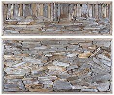 Recycled and Environmental Art of John Dahlsen Driftwood Assemblage #1 by John Dahlsen –