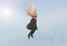 Liz flying high | Flickr - Photo Sharing!