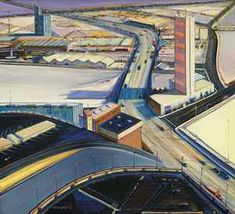 Wayne Thiebaud, City/Country. 2004. Multiple distorted perspectives. http://www.tfaoi.com/aa/4aa/4aa469.htm