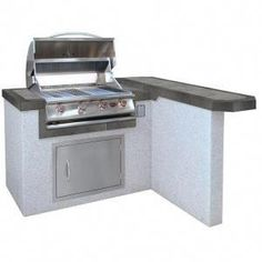 """Check out our web site for additional details on """"built in grill patio"""". It is actually an excellent spot to get more information. Outdoor Kitchen Countertops, Concrete Countertops, Granite, Kitchen Island Frame, Cal Flame, Grill Island, Propane Gas Grill, Gas Bbq, Grill Area"""