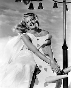 Rita Hayworth by Vintage-Stars, via Flickr