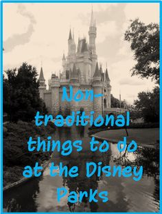 non traditional things to do at the disney parks