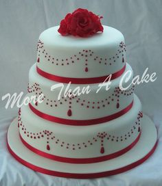 Red Velvet Wedding Cakes | Red Velvet Wedding Cake | Flickr - Photo Sharing!
