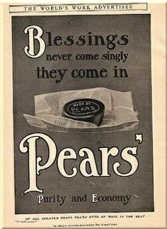 Pears' advert