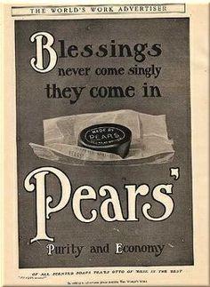 Pears' advert