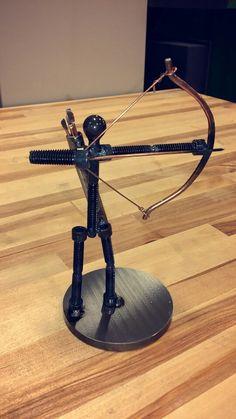 Scrap metal archer