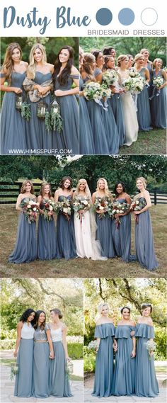 8332762fc7b 20 Dusty Blue Bridesmaid Dresses You ll Love. Fall Bridesmaid DressesFall  Wedding ...