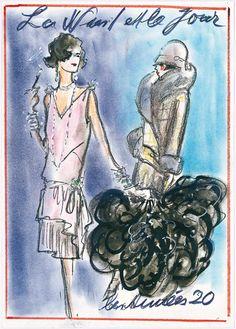 Histoires de mode par Karl Lagerfeld : années 20