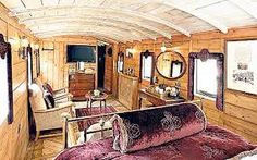 train carriage house - Google Search