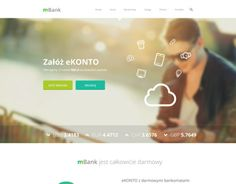 """Check out this @Behance project: """"mBank Redesign"""" https://www.behance.net/gallery/9540073/mBank-Redesign"""